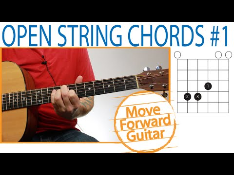 Open String Guitar Chords - Slide E Shape Around