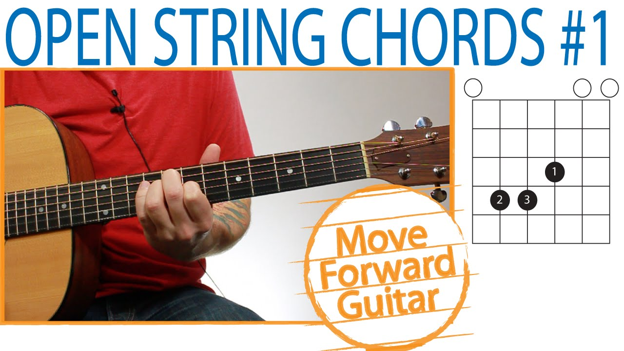 Open String Guitar Chords
