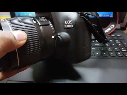 Reset settings in canon EOS 1300D DSLR