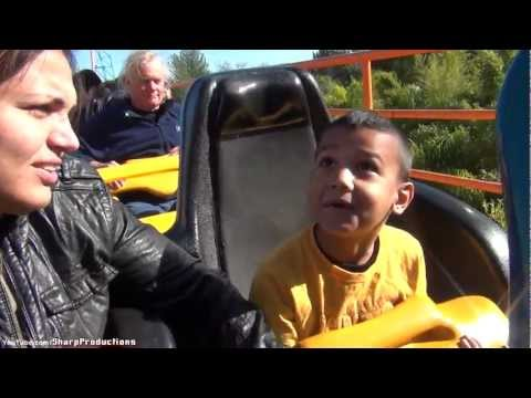 6 Year Old Rides Goliath at Six Flags Magic Mountain