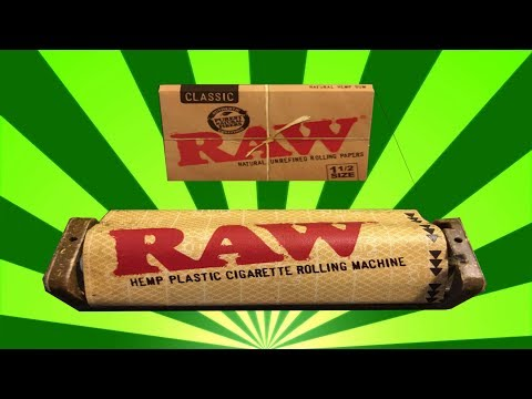 How To Use RAW Rolling Machine! (PERFECT)