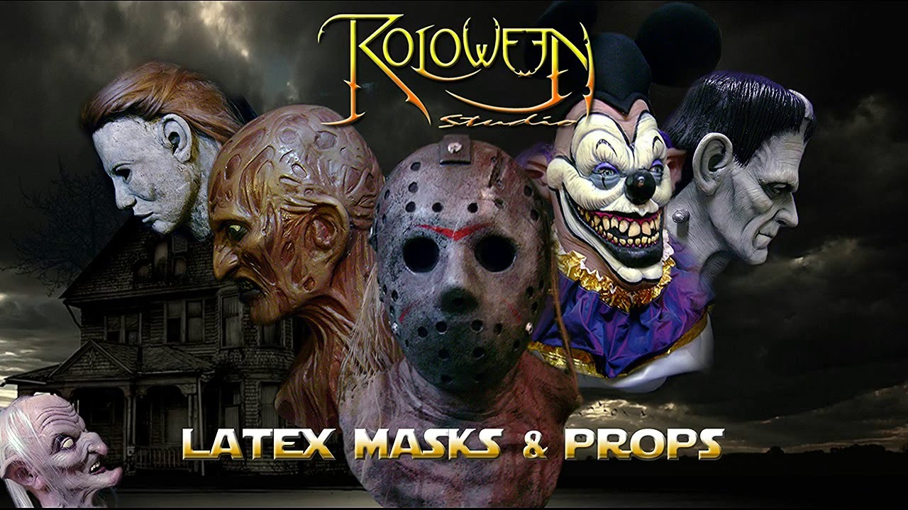 roloween studio mascaras de latex en argentina zombies terror star wars comiccon