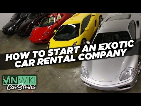 How can you start an exotic car rental company?