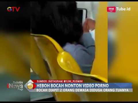 Astaga!! Bocah 5 Tahun Terekam Sedang Nonton Video Porno di Samsat Kebon Nanas - BIP 15/03