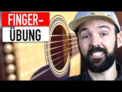 Finger Picking Übung - Gitarre Lernen Einfach & Auf Deutsch