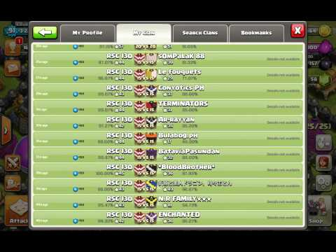 Active coc war clan. Join us. Check our war log!