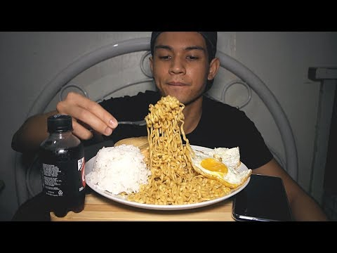 How to enjoy PANCIT CANTON + Channel Update (MUKBANG)
