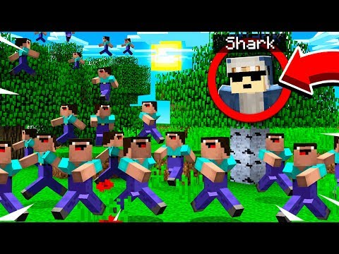 100 PLAYERS HUNT SHARK!