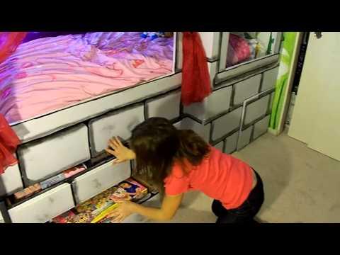Castle Princess bed Do it yourself DIY