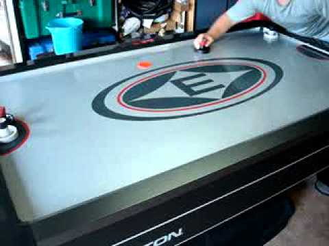 Lovely Easton Air Hockey Table   YouTube