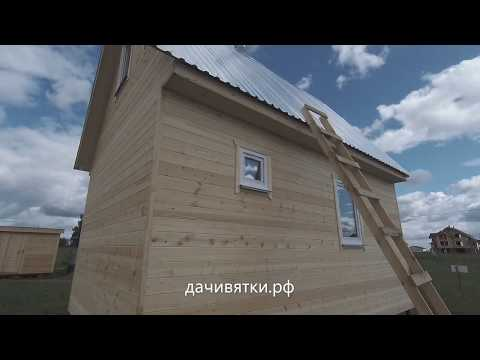 Дачный дом. Отопление печкой
