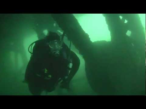 Lake Michigan | Scuba Diving the #6 Dredge Shipwreck in Lake Michigan with Aquatic Adventures