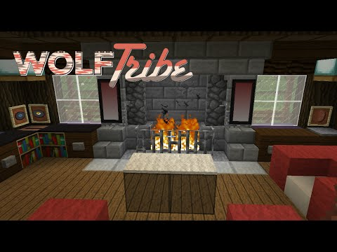 WOLFtribe | Ep 12 - Decorating Cube's House
