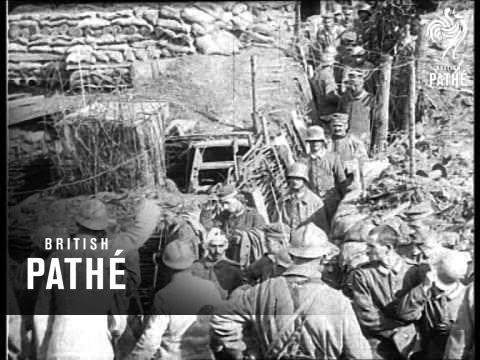 German Prisoners At Somme (1916)