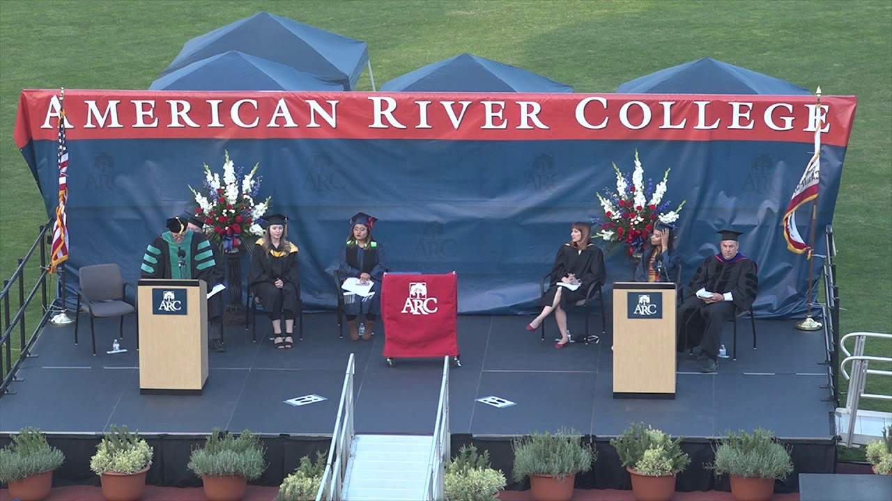 American River College 2018 Graduation Ceremony