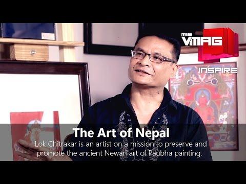M&S VMAG Inspire | The Nepali Fine Art of Paubha Painting with Lok Chitrakar