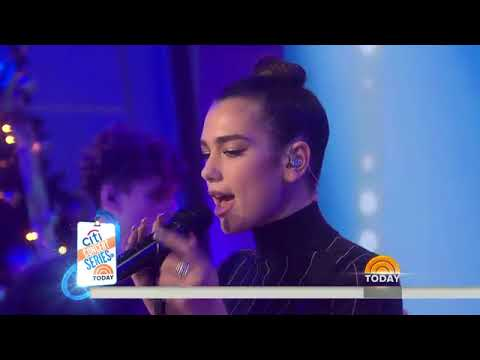 Download Watch British sensation Dua Lipa sing 'Blow Your Mind (Mwah)'