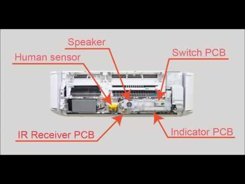 Fujitsu General Service Instruction Video For ASYG09KXCA