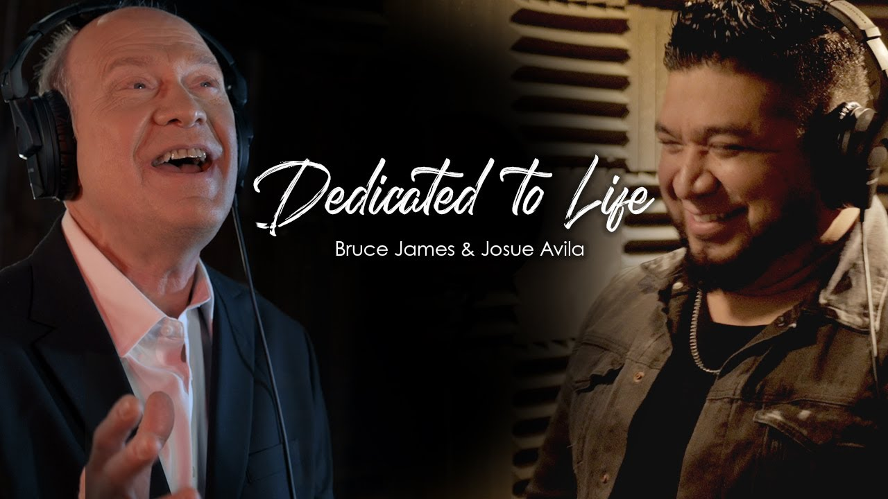 New Video from Bruce James: Dedicated to Life