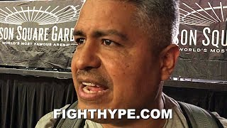 ROBERT GARCIA BRUTALLY HONEST DAY AFTER MIKEY GARCIA\'S LOSS TO SPENCE; MAKES MAYWEATHER COMPARISON