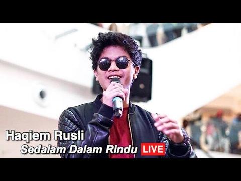 Sedalam Dalam Rindu (Tajul) Cover By Haqiem Rusli
