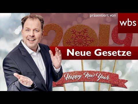10 Dinge die sich 2019 ändern | Rechtsanwalt Christian Solmecke