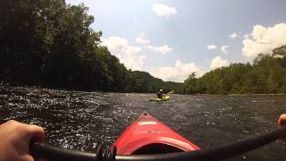 Kayaking the James River