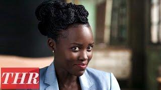 Lupita Nyong'o Talks 'Black Panther' Stunts, Michael B. Jordan,