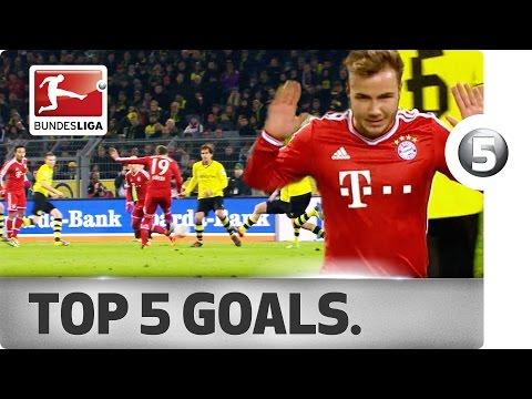 Top 5 Goals Mario Götze – FC Bayern München