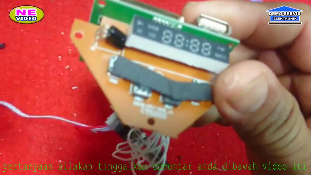 servis speaker lawega modif modul MP3 (part 4)