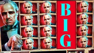 ★NEW SLOT★ The Godfather Slot Machine Max Bet Bonus ★BIG WIN★ |  FIRST ATTEMPT | Live Slot Play