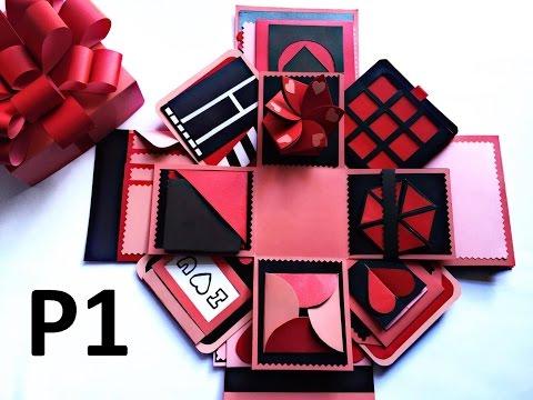 LOVE BOX - Hướng Dẫn Làm Hộp Quà Tình Yêu (P1) - NGOC VANG Handmade