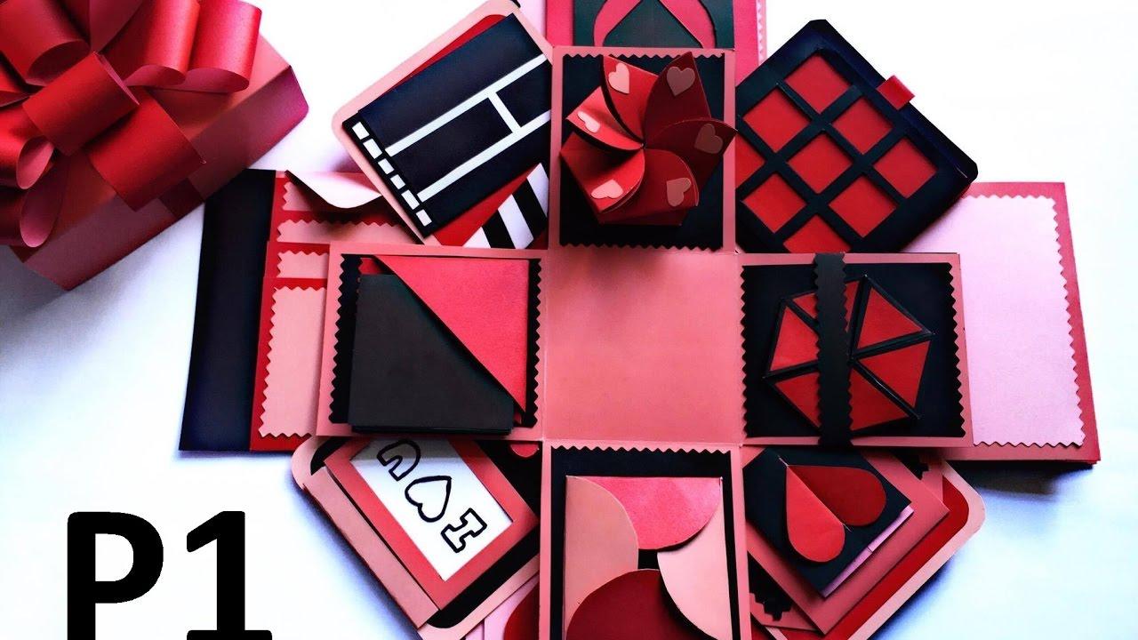 LOVE BOX – Hướng Dẫn Làm Hộp Quà Tình Yêu (P1) – NGOC VANG Handmade