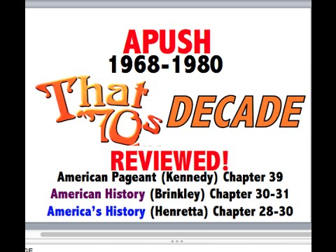 American Pageant Chapter 39 APUSH Review