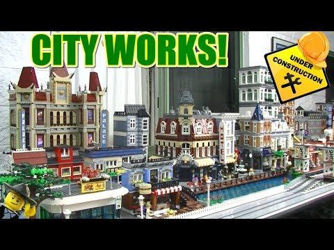 City Under Construction Vector - 48554434 : Shutterstock |City Under Construction