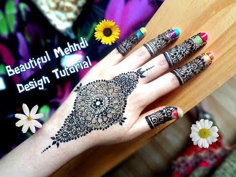Mehndi Army : Watch how to apply easy simple mandala gol tikki mehndi designs on