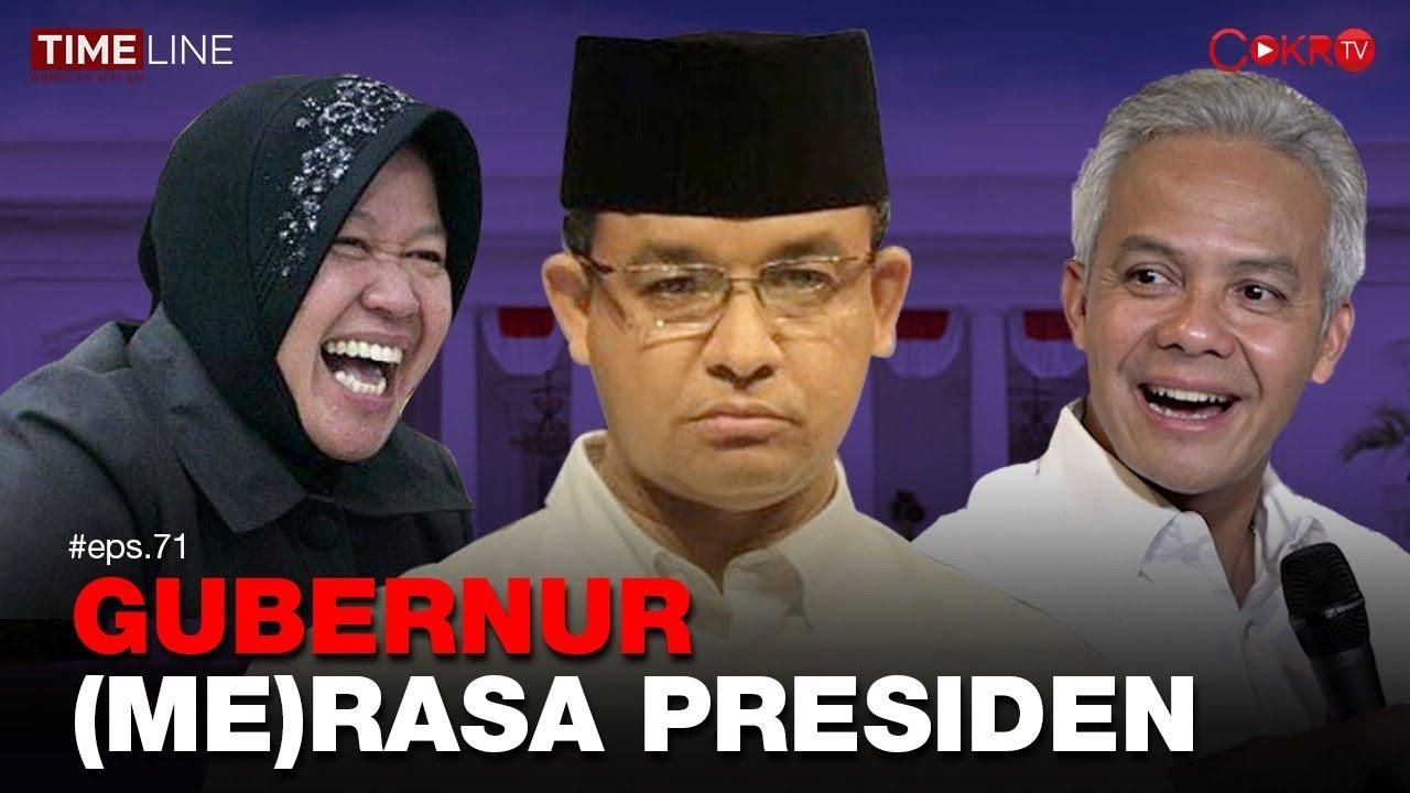 Denny Siregar: GUBERNUR (ME)RASA PRESIDEN - Cokro TV