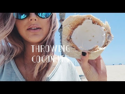 THROWING COCONUTS!! | Paige Danielle