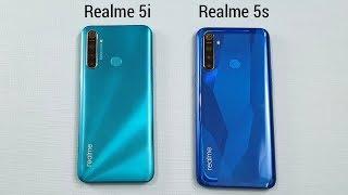 Realme 5i vs Realme 5s SpeedTest & Camera Comparison