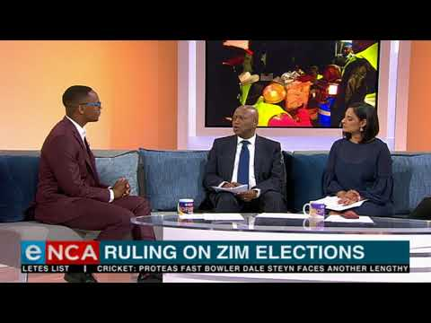 Ruling on Zim elections