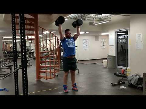 Sig Klein DB Clean and Press Challenge - Attempt #3