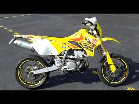 drz 400 sm walkaround racing stickers supermoto hd youtube. Black Bedroom Furniture Sets. Home Design Ideas