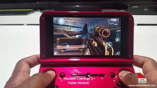 Modern Combat 3 - Fallen Nation, Gameplay on the GPD XD
