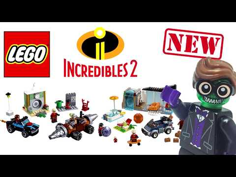 NEW Lego Incredibles 2 Sets are...Okay? en streaming
