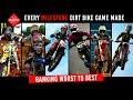 Every Milestone Dirt Bike Game + Ranking Worst To Best