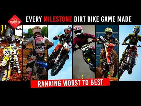 Every Milestone Dirt Bike Game + Ranking Worst To Best