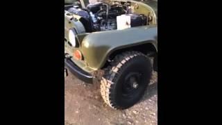 Уаз 469 работа двигателя