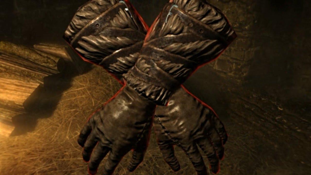 Black leather gloves skyrim - Skyrim Special Edition Gloves Of The Puglist Secret Gauntlets Location Legendary