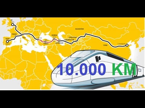 China Spain Railway track 10.000 KM - One Belt one Road China investments - SUBSCRIBE !!