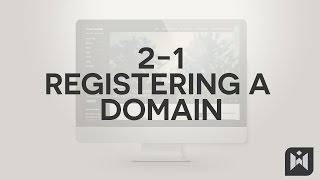 WordPress for Beginners 2015 Tutorial Series | Chapter 2-1: Registering a Domain